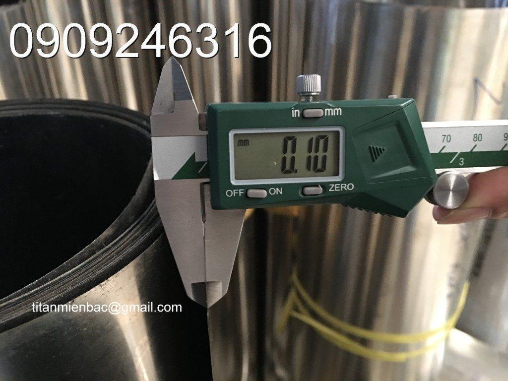 inox đàn hồi dày 0.1 mm