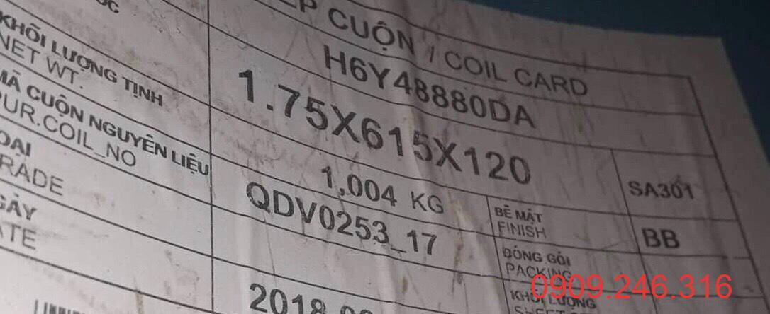 cuộn inox 301 0909 246 316