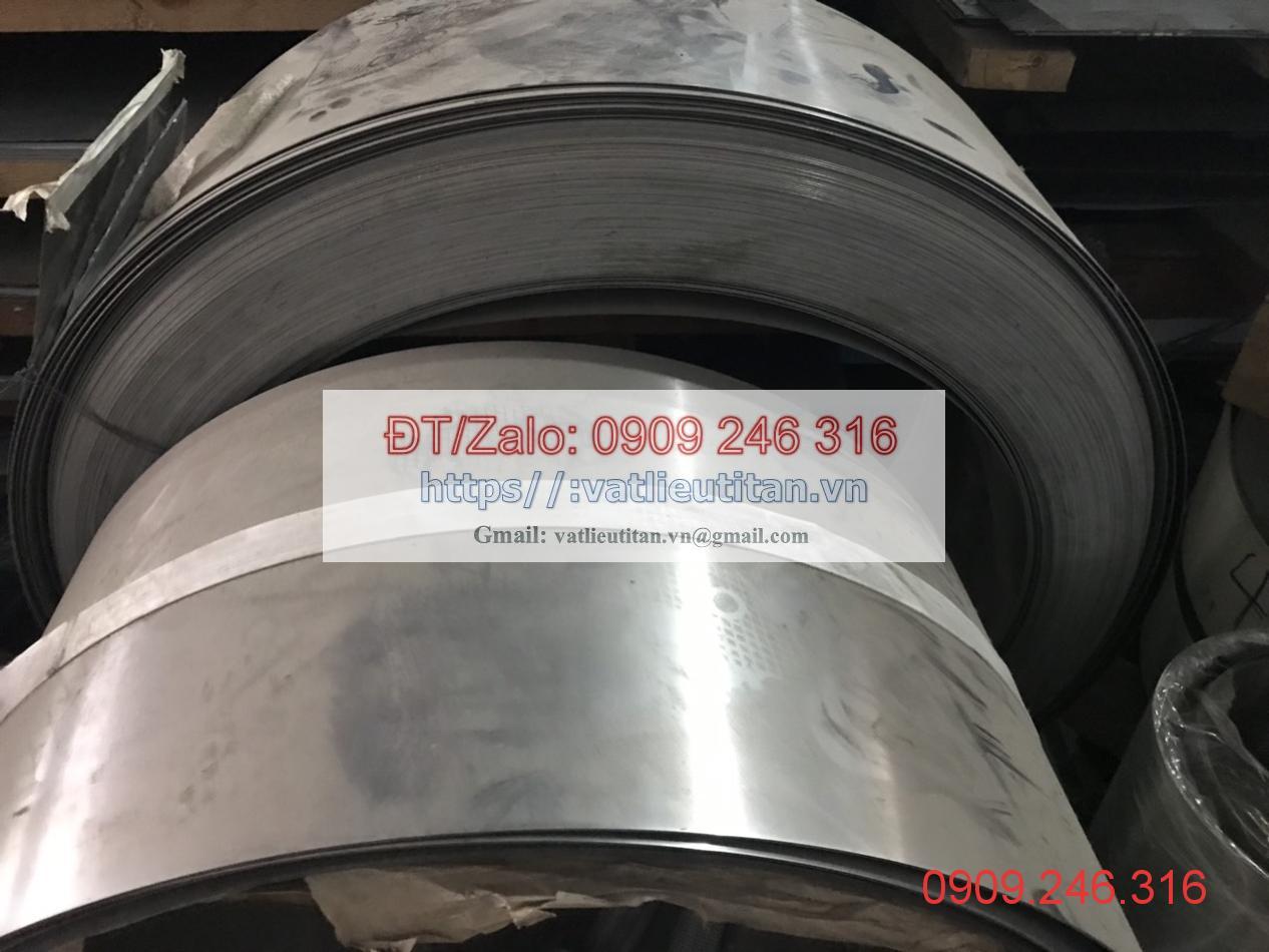 Cuộn inox 301 dày 0.5 mm